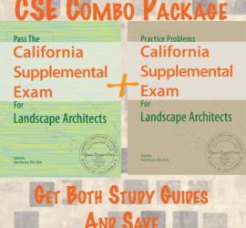 Buy the California Supplemental Exam for Landscape Architects Study Guides and Save